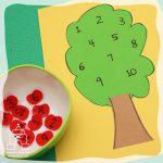 درخت اعداد یک تا ده